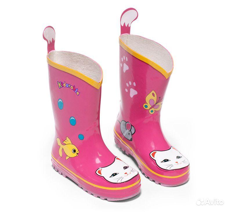В НАЛИЧИИ!!! резиновые сапоги американской фирмы KIDORABLE. .  Для девочек и мальчиков. .  Размеры и цену вопроса...