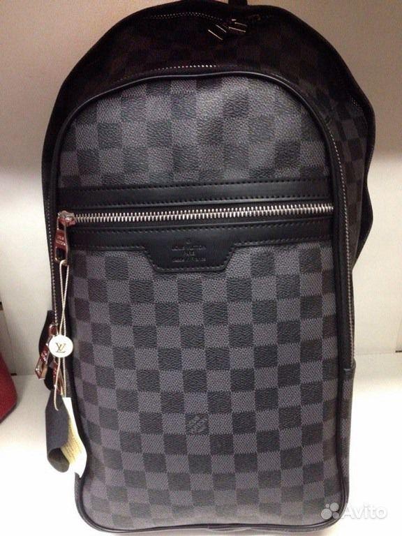 9ba1c460f4ff архив авито мужской рюкзак Lv Louis Vuitton N58024