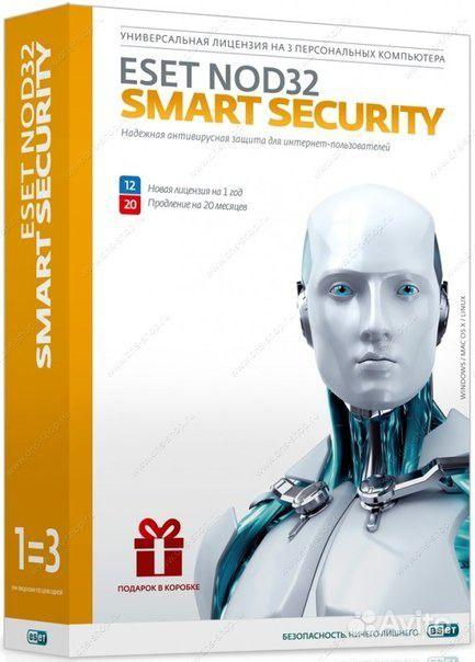0. Антивирусы Eset Smart Security BOX 1 год на ПК Язык интерфейса: русский.