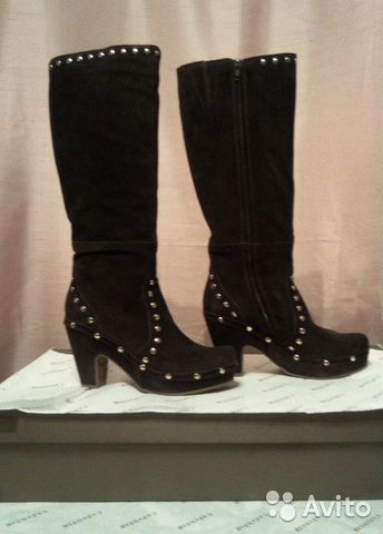 Женская обувь: Сапоги CAFE NOIR (RFE621 1 K1BLACK)