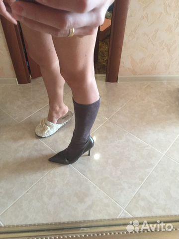 Сапоги стрейч чулки - Итальянская обувь низкие цены