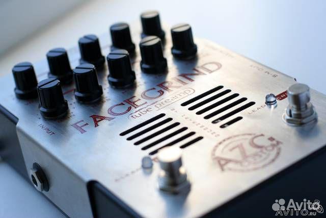 Обзор гитарного преампа AZG Custom FaceGrind Crunch/Lead Preamp
