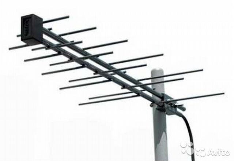 Уличная цифровая антенна для тв своими руками