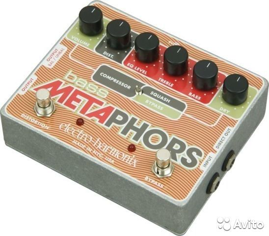 Bass Metaphors Preamp/EQ/Distortion/Compressor/DI купить 1