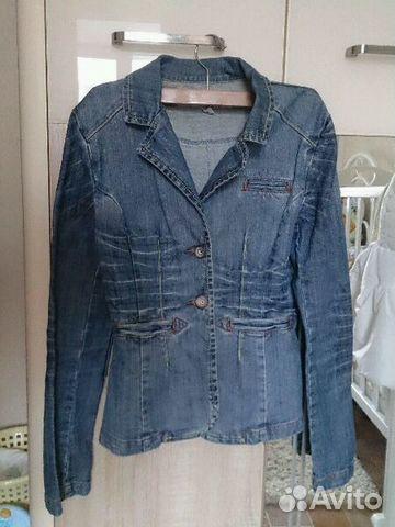 Джинсовый жакет (пиджак) 89397444363 купить 1