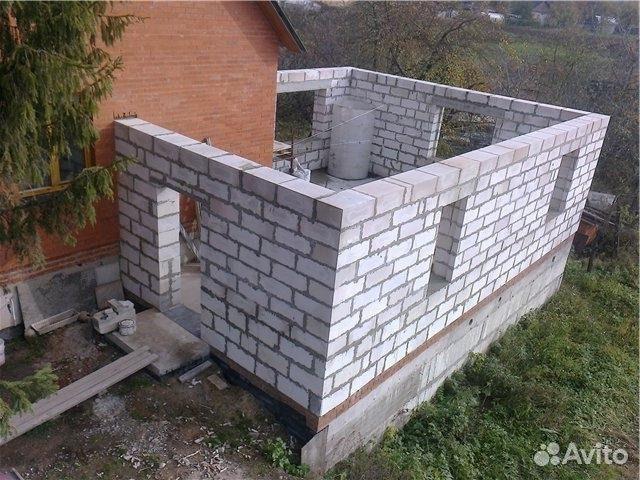 Как сделать дом из керамзитных блоков 353
