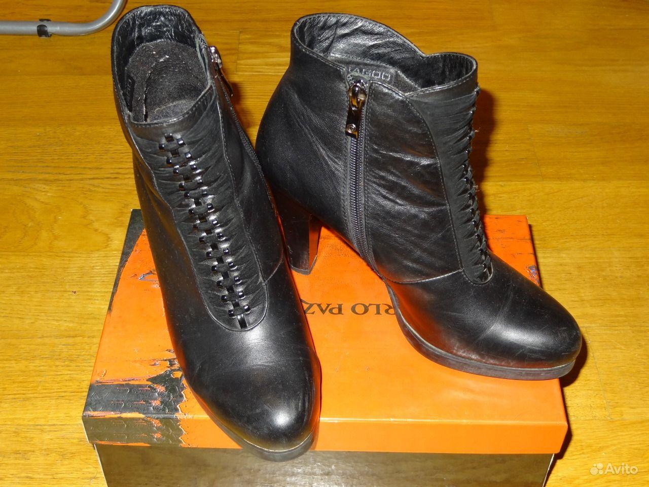 903dc3619860 Женские кожаные ботинки осень 38 размер   Festima.Ru - Мониторинг ...