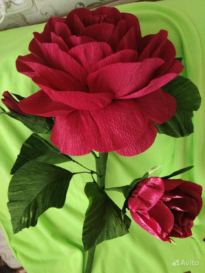 Картинки ростовых цветов из гофрированной бумаги