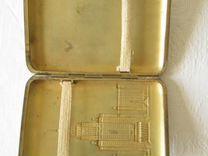 Портсигар мгу серебро пр 875 (37-9) — Мебель и интерьер в Москве