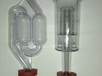 Гидрозатвор S-образный, трехкамерный