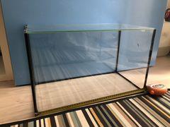 Аквариум 38 л с покровным стеклом