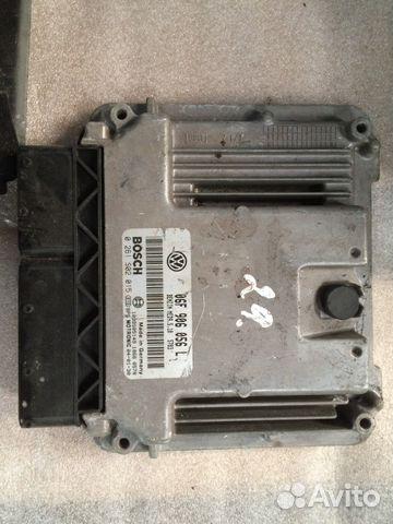 Блок управления двигателем Ауди 06F906056L— фотография №1