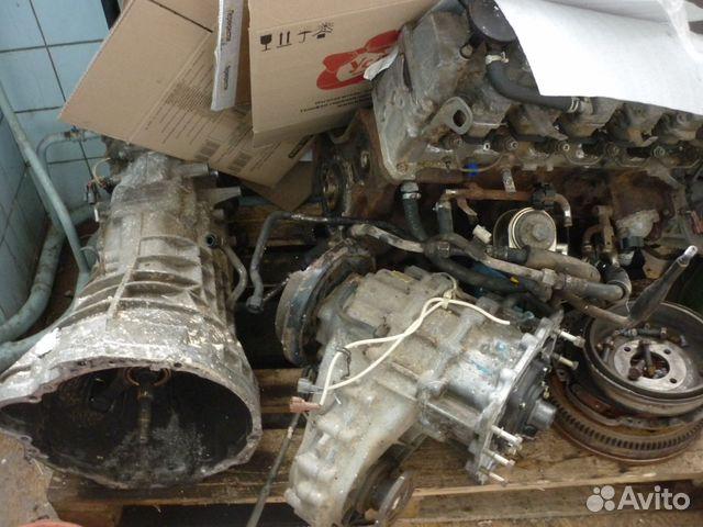 nissan patrol y61 rd28 Двигатель, раздатка, мкпп купить в Москве на