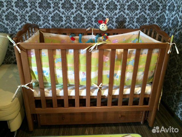 Детская кроватка лель  смоленск