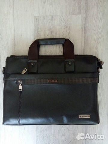 df81cfe96028 Мужская сумка Polo (Поло А4) купить в Республике Татарстан на Avito ...