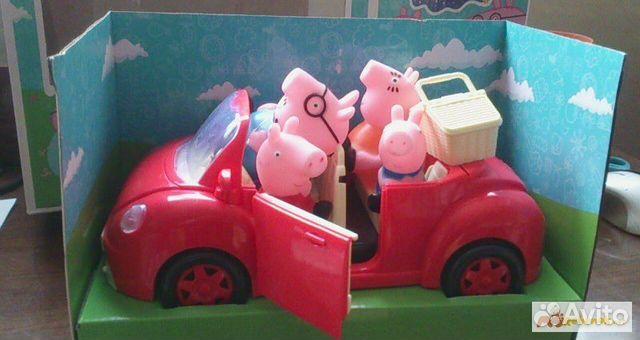 свинка пеппа игрушки купить в санкт петербурге