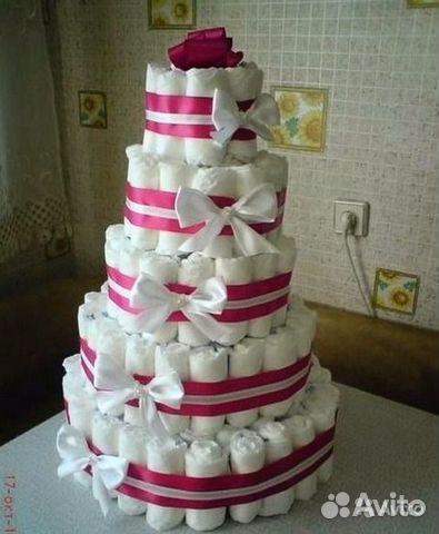 торт из памперса фото