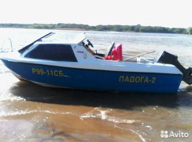 моторную лодку охотник 2
