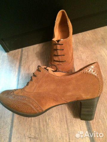 ee2035792 Кожаные туфли Испания (новые) 40 размер купить в Москве на Avito ...