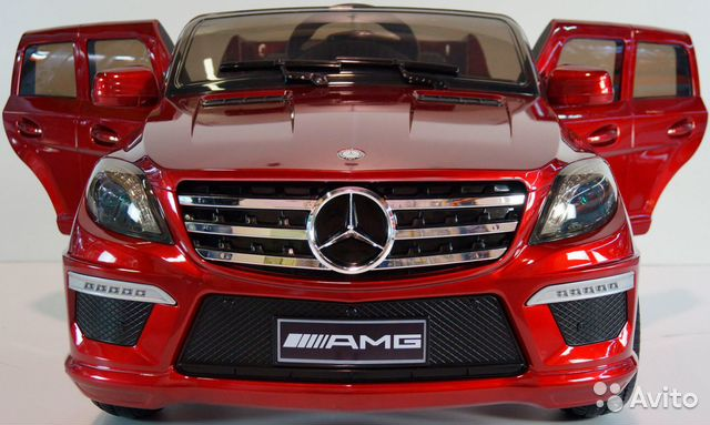 Детский электромобиль AMG G-55 Mercedes Gelandewagen Selavi.com.ua