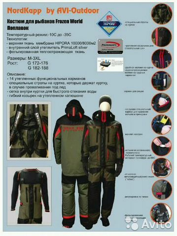 костюмы для рыбалки финские
