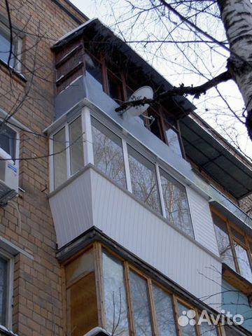 Услуги - остекление и отделка балконов. окна пвх в московско.
