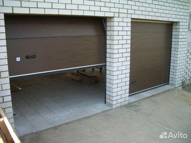 подъемные секционные ворота для гаража омск