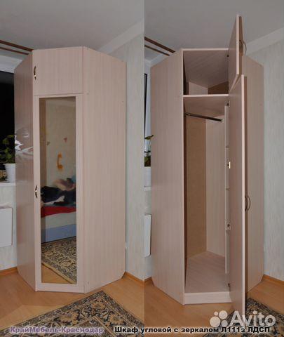 Шкаф угловой с зеркалом купить в краснодарском крае на avito.