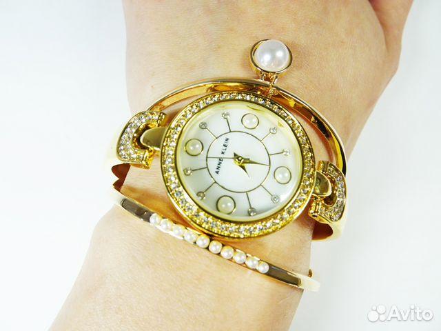 часы anne klein с браслетами женские купить в екатеринбурге пьянящий