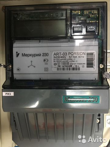 счетчик меркурий 230 art-03 pqrsidn инструкция