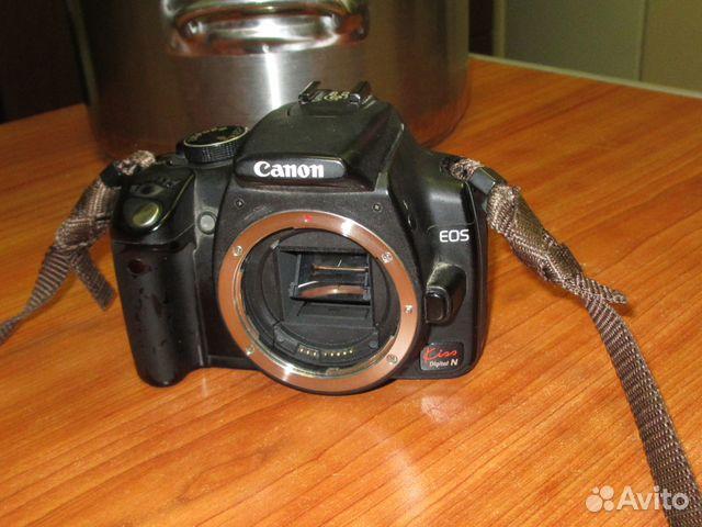Canon Eos Kiss Digital N Eos 350d купить в москве на Avito
