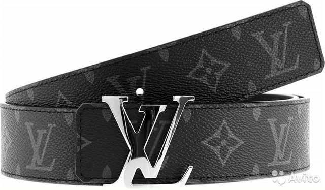 968bdcbb82f7 Ремень двухсторонний Louis Vuitton Monogram Eclips купить в Санкт ...
