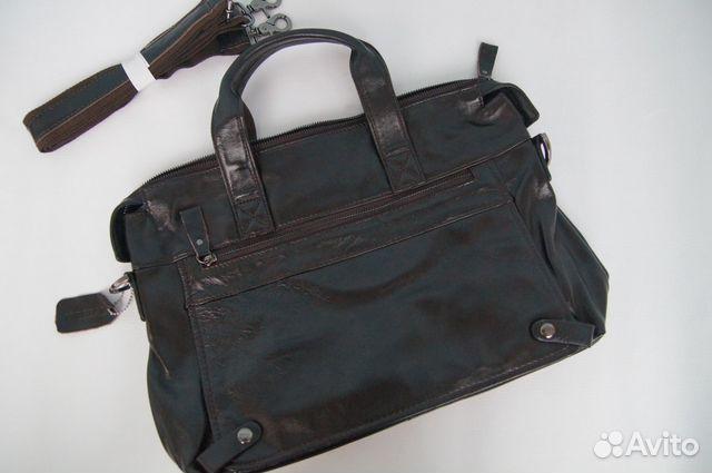 a4d8e795f4ed Новая кожаная мужская сумка купить в Самарской области на Avito ...