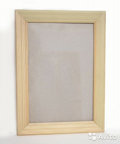 деревянная рамка 20х30 см а4 со стеклом Festimaru мониторинг