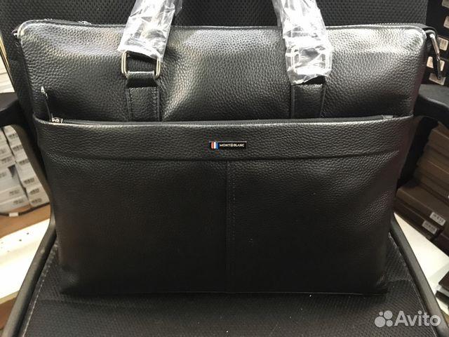 3b381bf5a0f8 Портфель кожаный Mont Blanc | Festima.Ru - Мониторинг объявлений