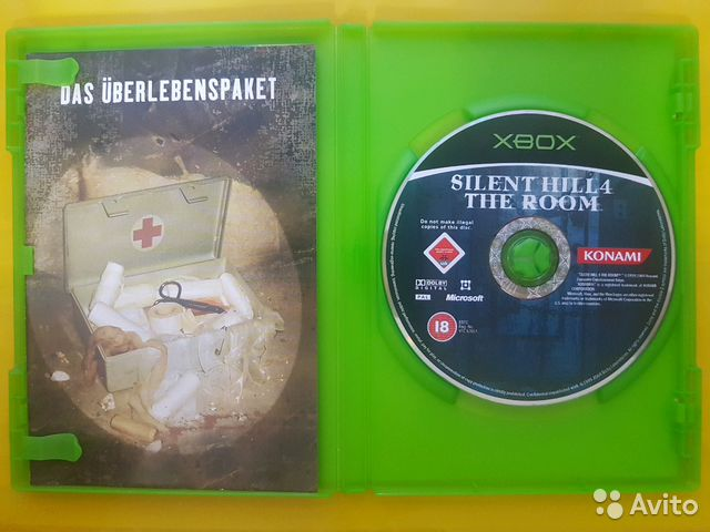 Xbox original  Silent Hill 4 The Room  Лицензия купить в