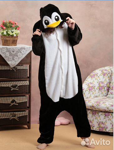 Кигуруми - пижама Пингвин размер L новая  20a9fb62915e9