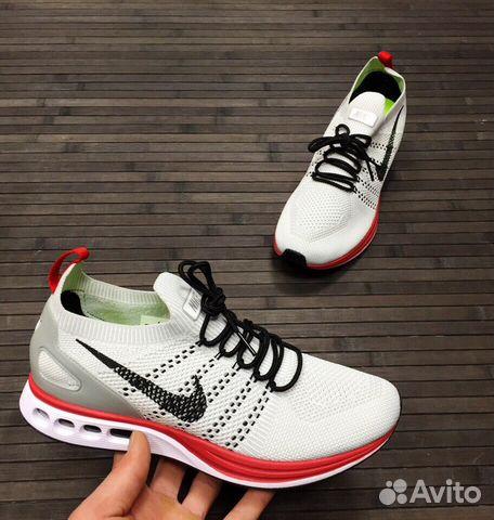 c810e0cfbcc1 Кроссовки Nike Zoom Бело-красные мужские   Festima.Ru - Мониторинг ...