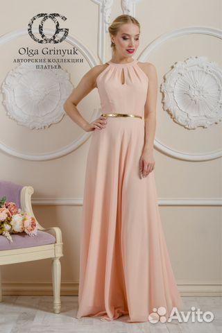 c009e7fca29 Новое роскошное платье из итальянского шифона