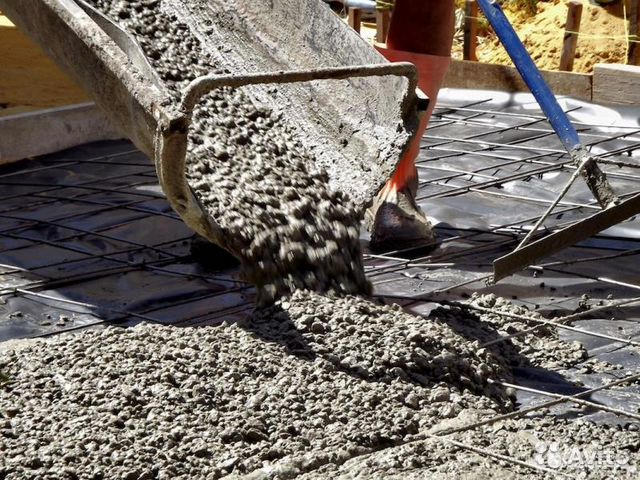 купить бетон в каспийске