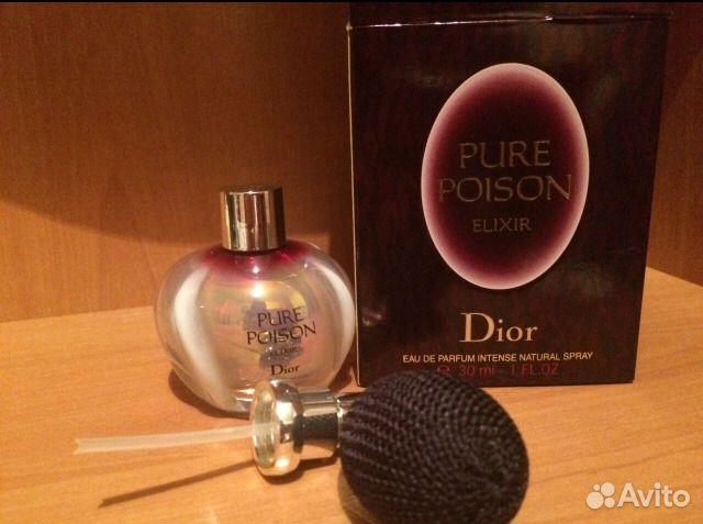 Dior Pure Poison Elixir купить в новосибирской области на Avito