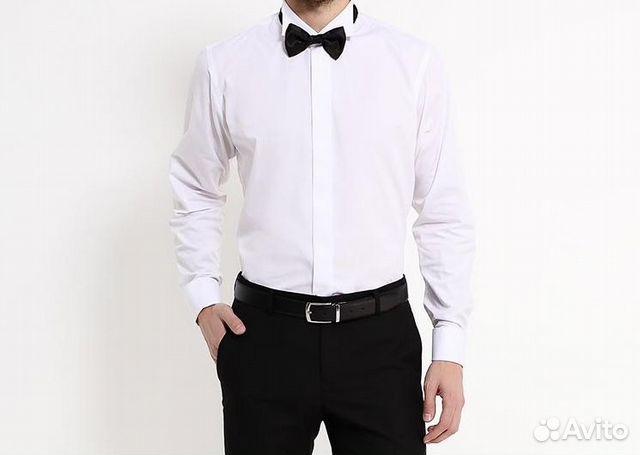 bf5df00b489b227 Новая рубашка под бабочку Piero Lusso хxl купить в Москве на Avito ...
