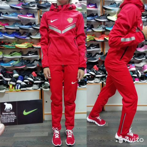 155b836a Спортивный костюм Nike Russia ветрозащитный | Festima.Ru ...