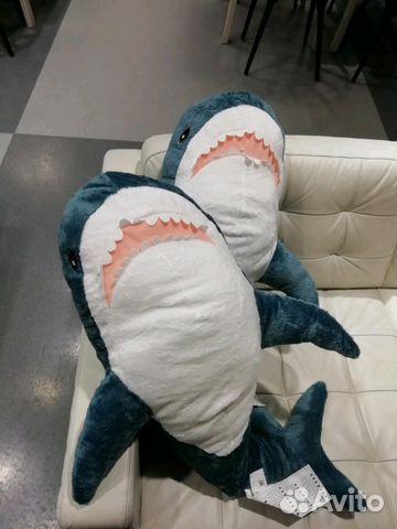 Акула из икеи блохэй blohaj оригинал в наличии купить в ...