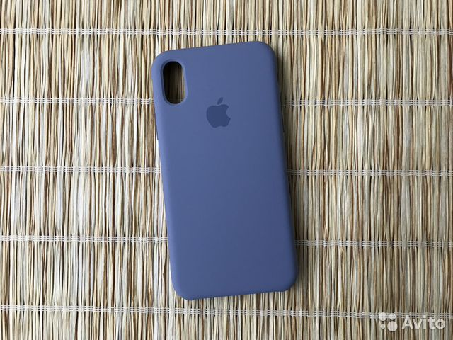 huge discount 3e71d 78f71 Чехол iPhone Xs «Silicone Case Lavender Grey»
