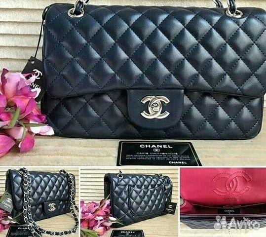 Сумка Chanel кожа новая   Festima.Ru - Мониторинг объявлений 4d97e6a46e3