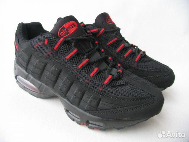 meet best website check out Кроссовки Nike Air Max 95 Черн.Кр.Пет.43
