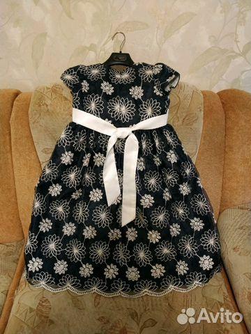 Платье нарядное со стразами Swarovski 7-10 лет  купить 2
