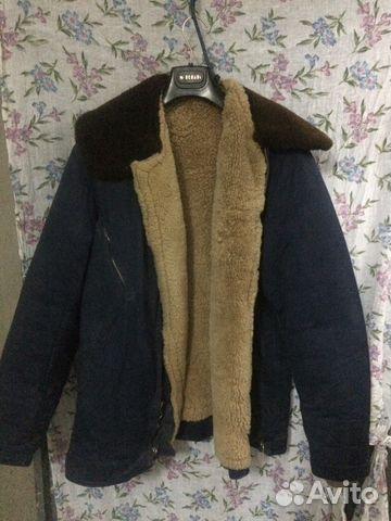 766a65c102496 Лётная меховая куртка ввс купить в Саратовской области на Avito ...