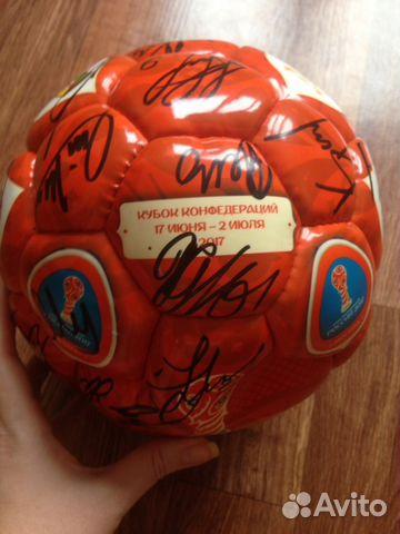 Автографы футболистов сборной испании
